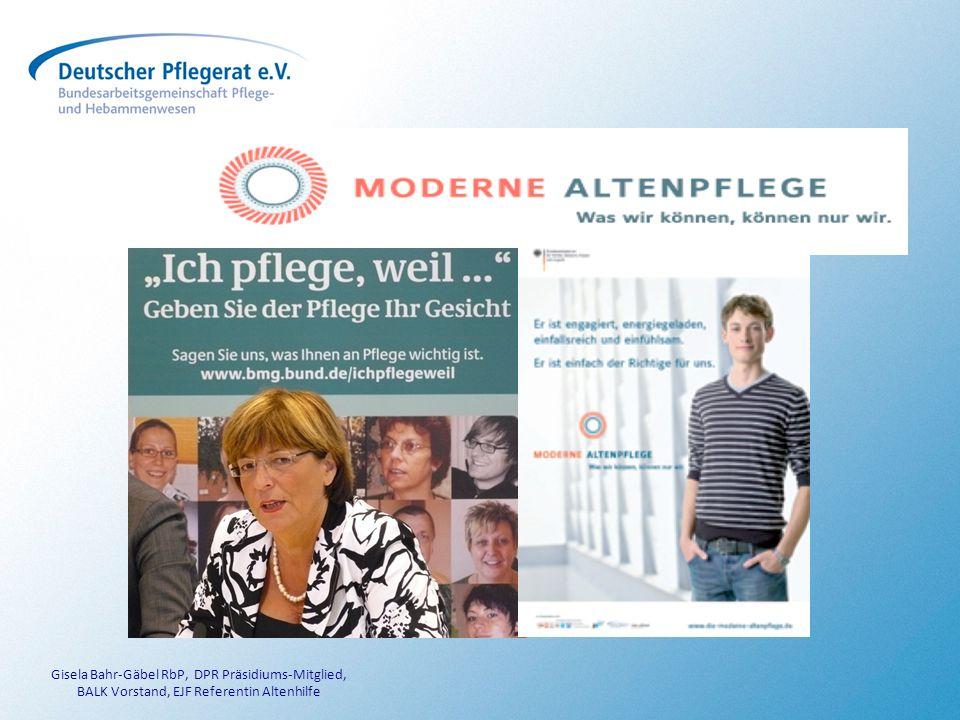 Gisela Bahr-Gäbel RbP, DPR Präsidiums-Mitglied,