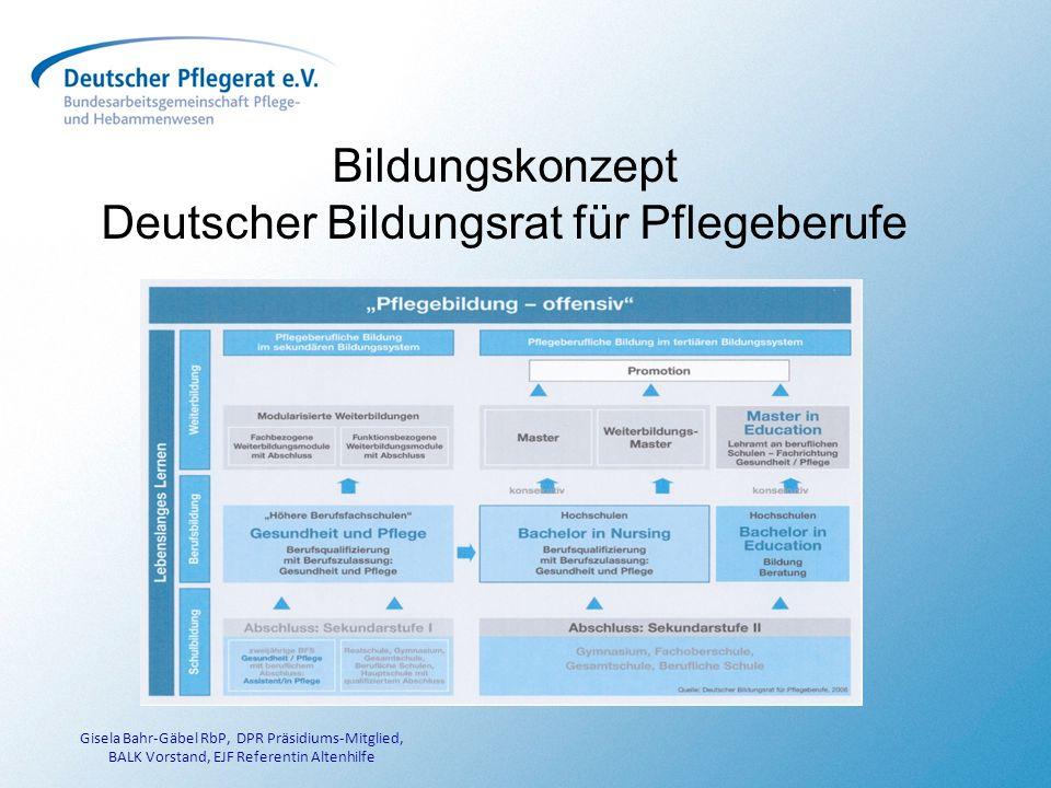 Deutscher Bildungsrat für Pflegeberufe