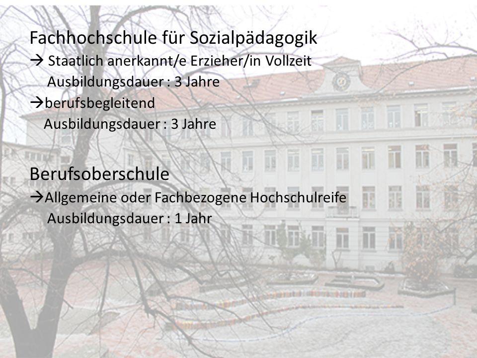 Fachhochschule für Sozialpädagogik