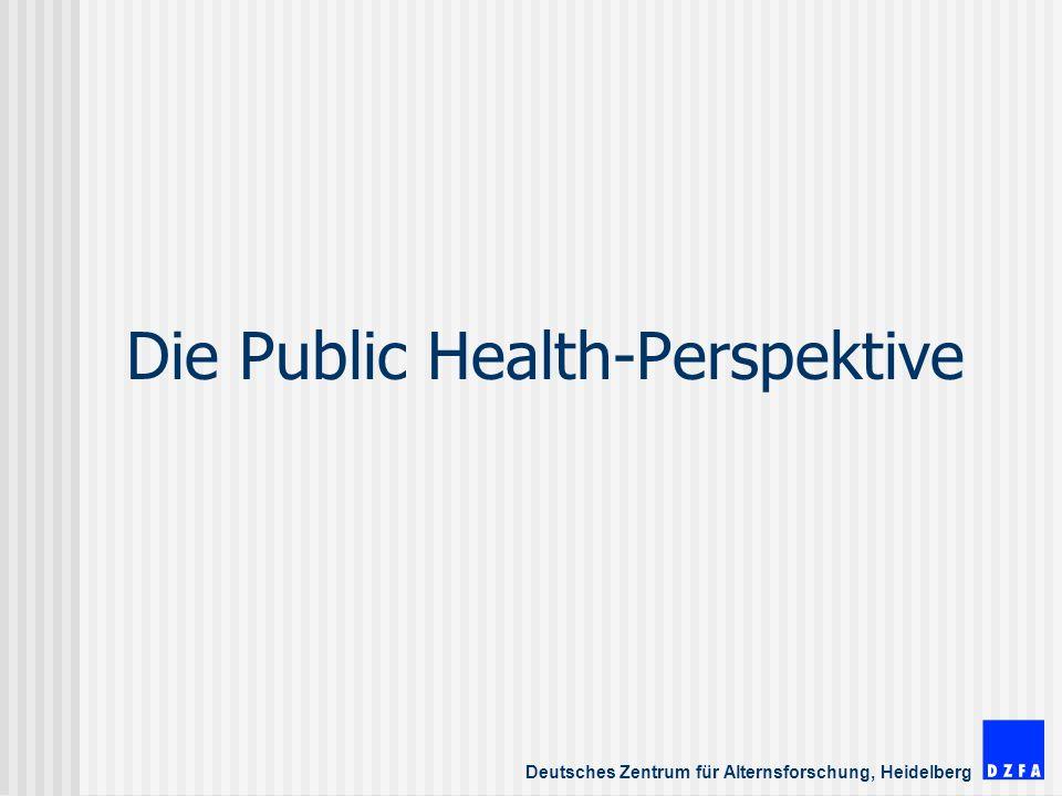 Die Public Health-Perspektive