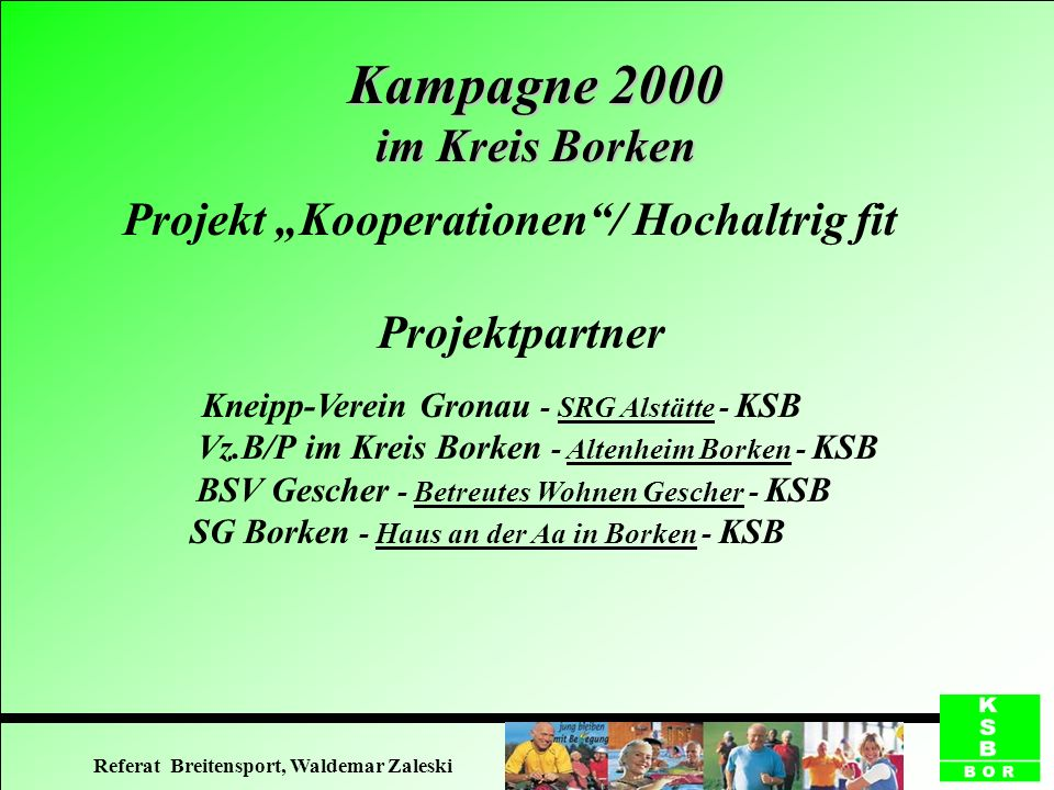 Kampagne 2000 im Kreis Borken