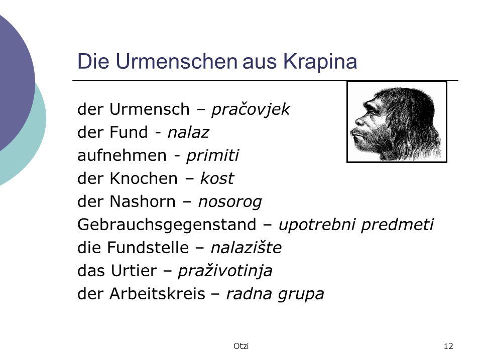 Die Urmenschen aus Krapina