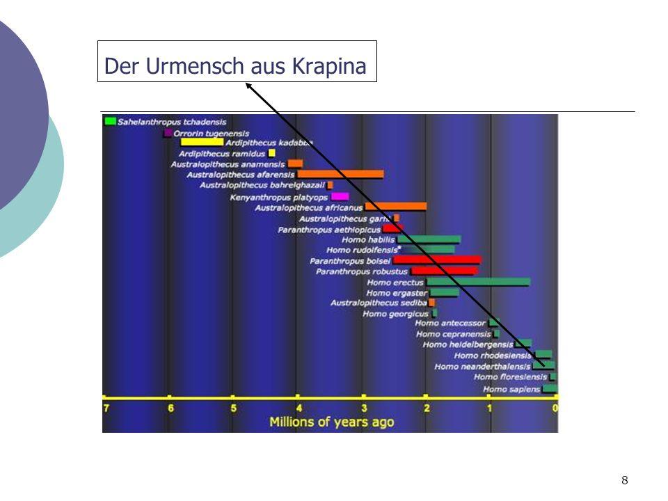 Der Urmensch aus Krapina