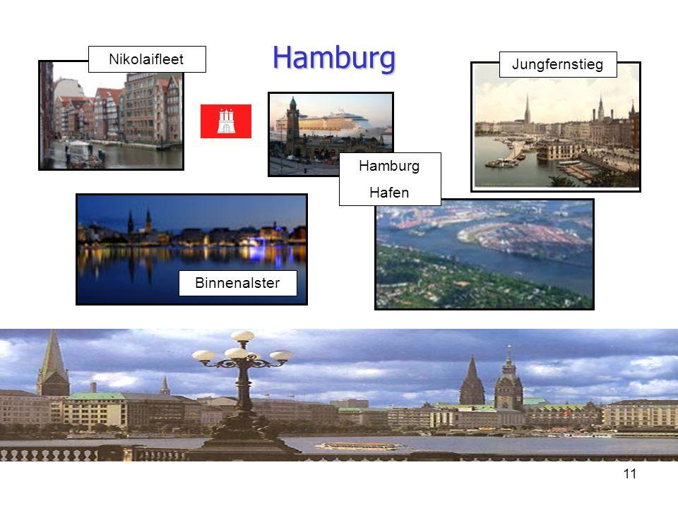 Hamburg Nikolaifleet Jungfernstieg Hamburg Hafen Binnenalster