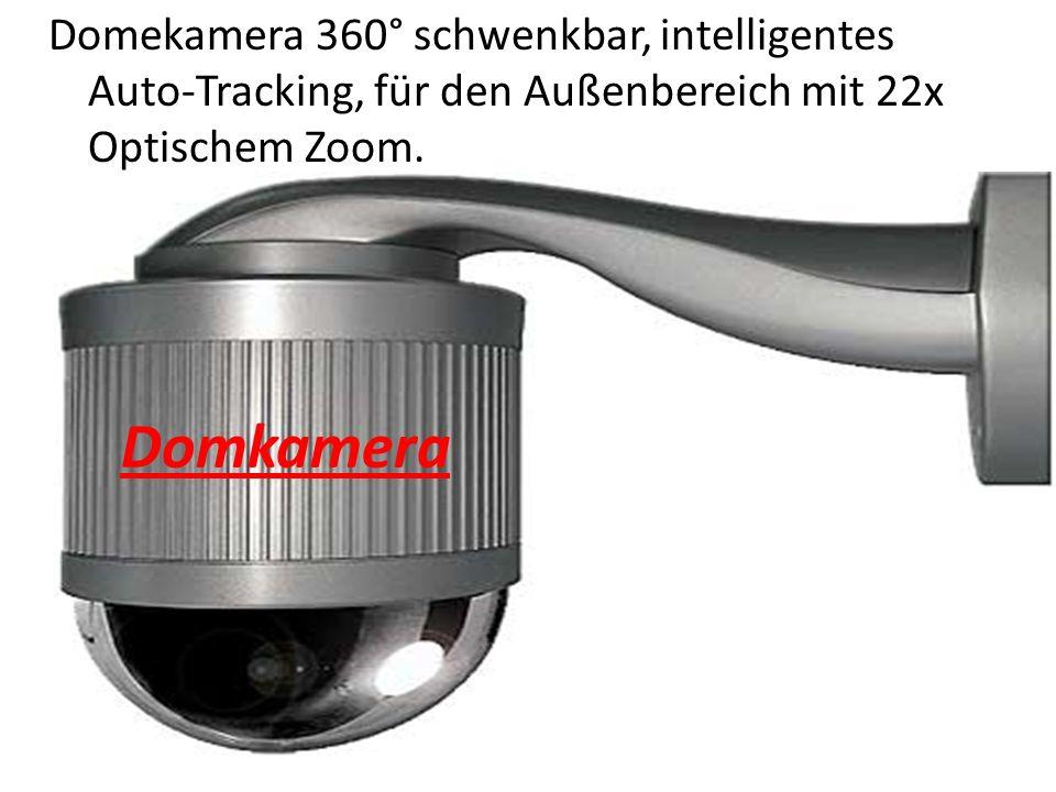 Domekamera 360° schwenkbar, intelligentes Auto-Tracking, für den Außenbereich mit 22x Optischem Zoom.