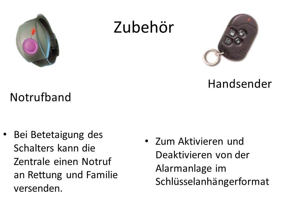 Zubehör Handsender Notrufband