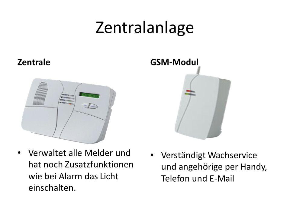 Zentralanlage Zentrale GSM-Modul