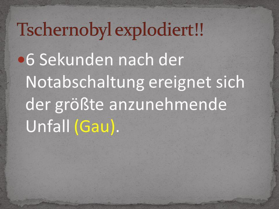 Tschernobyl explodiert!!