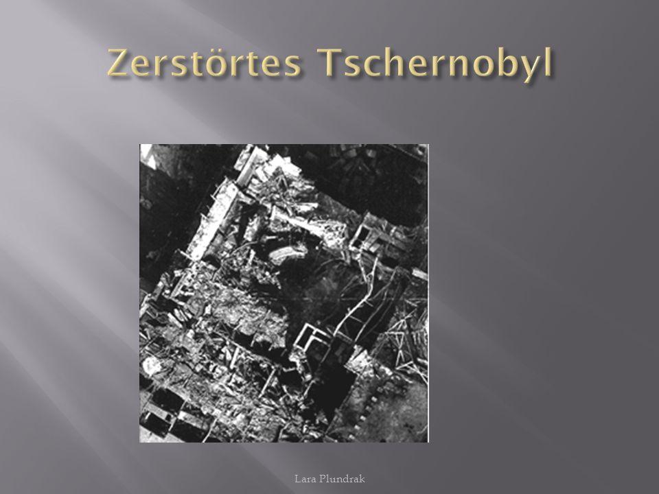 Zerstörtes Tschernobyl
