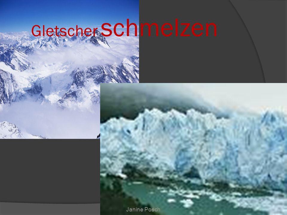 Gletscher schmelzen Janine Posch