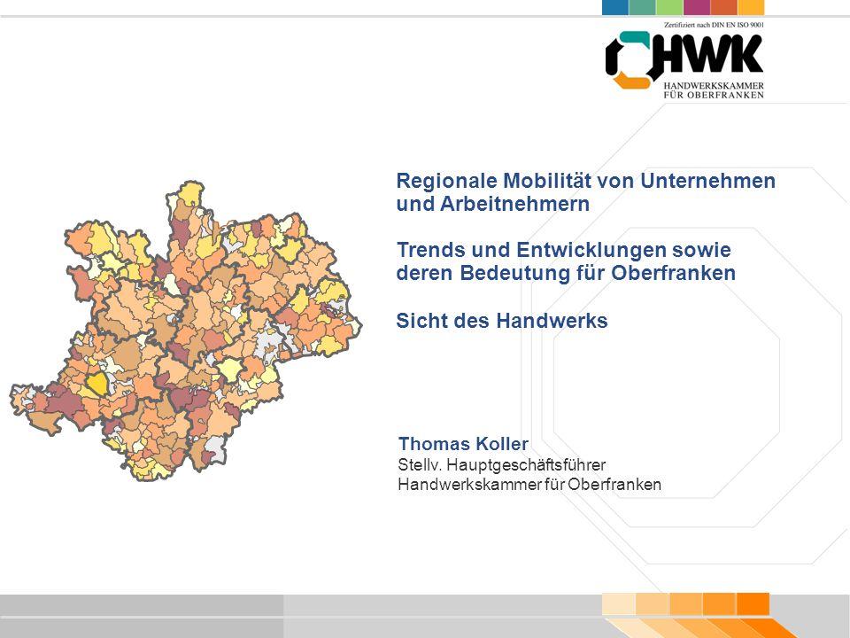 Regionale Mobilität von Unternehmen und Arbeitnehmern
