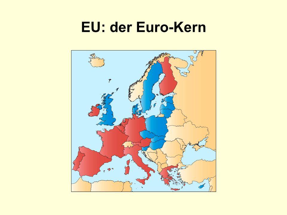 EU: der Euro-Kern