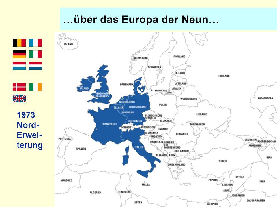 …über das Europa der Neun…