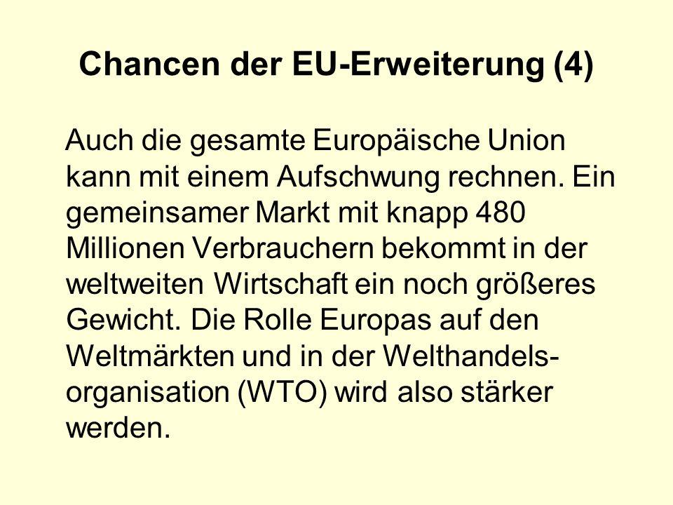 Chancen der EU-Erweiterung (4)