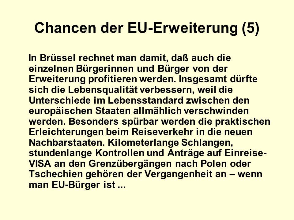Chancen der EU-Erweiterung (5)