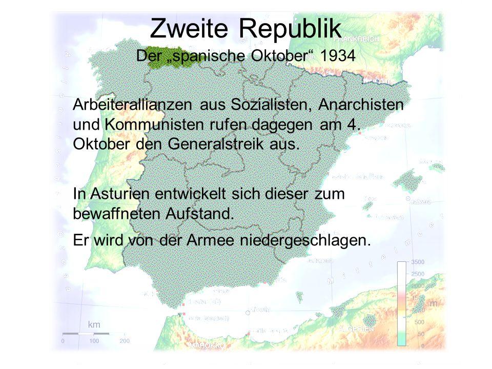 """Der """"spanische Oktober 1934"""