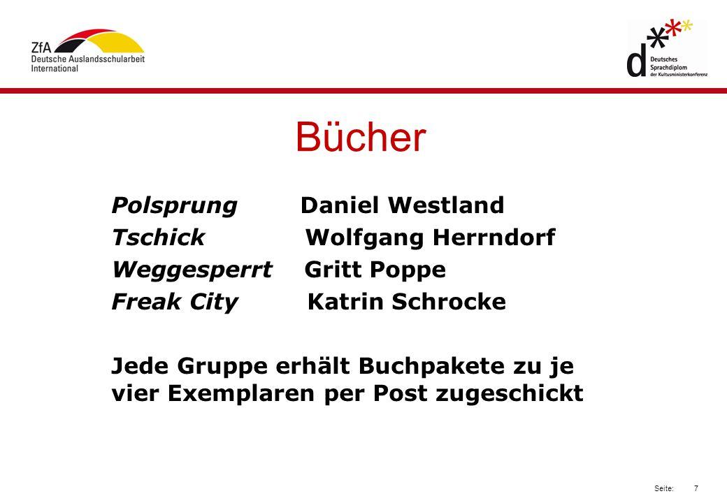 Bücher Polsprung Daniel Westland Tschick Wolfgang Herrndorf