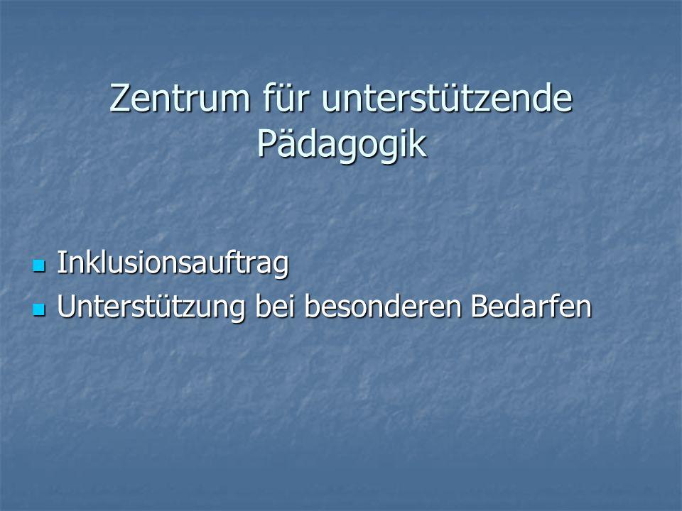 Zentrum für unterstützende Pädagogik