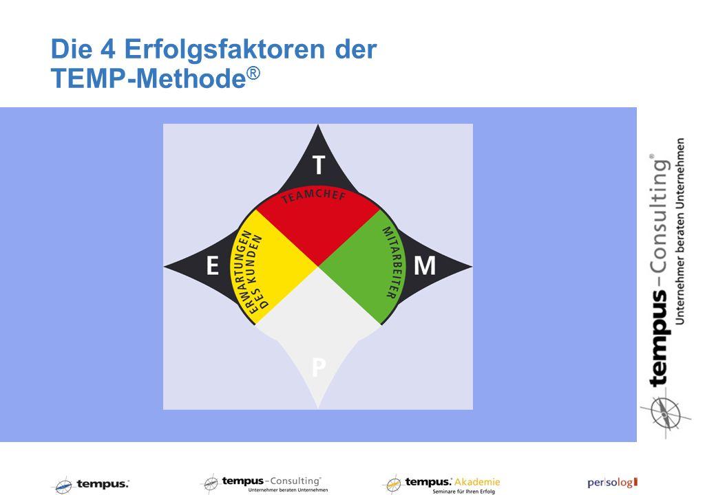 Die 4 Erfolgsfaktoren der TEMP-Methode®