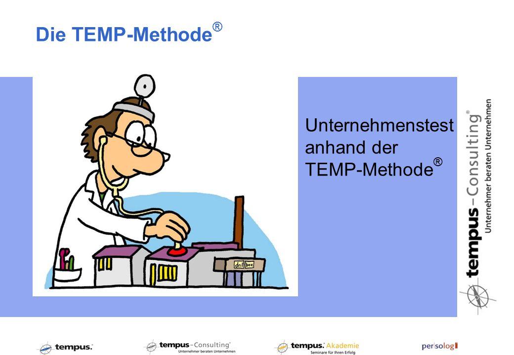 Die TEMP-Methode® Unternehmenstest anhand der TEMP-Methode®