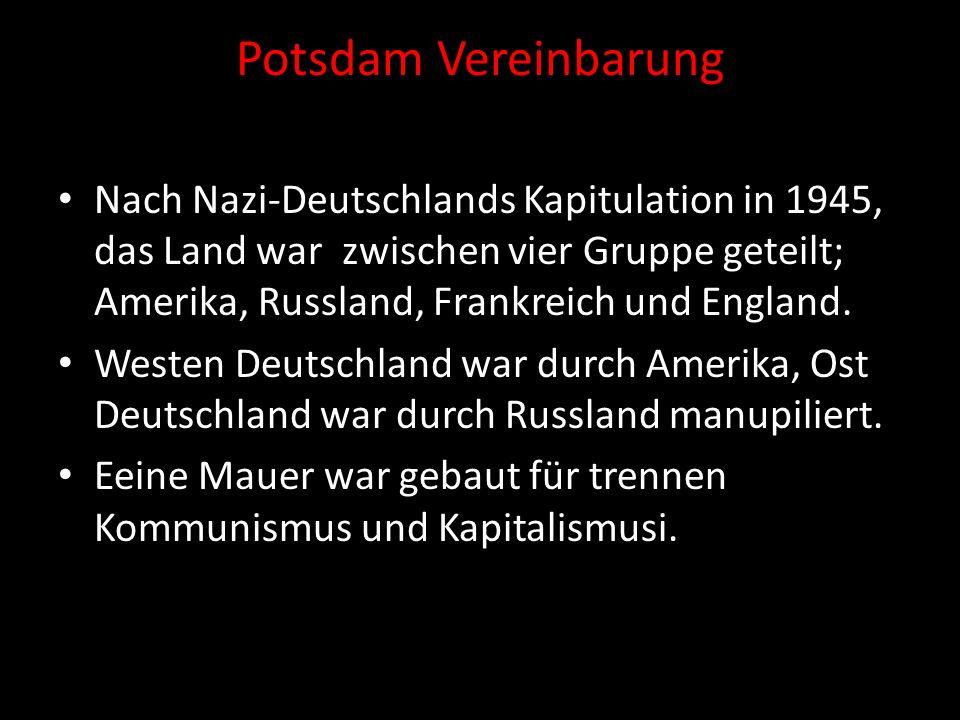 Potsdam Vereinbarung