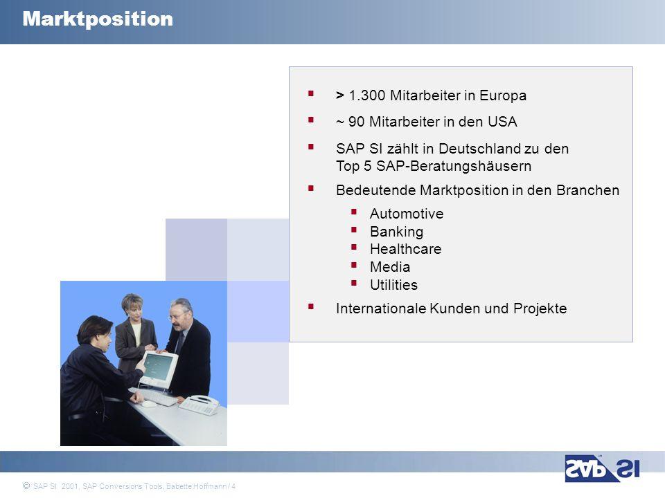 Marktposition > 1.300 Mitarbeiter in Europa