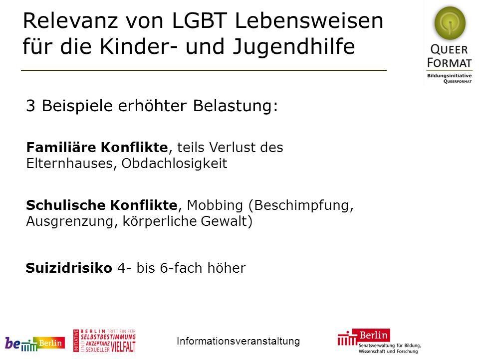 Relevanz von LGBT Lebensweisen für die Kinder- und Jugendhilfe