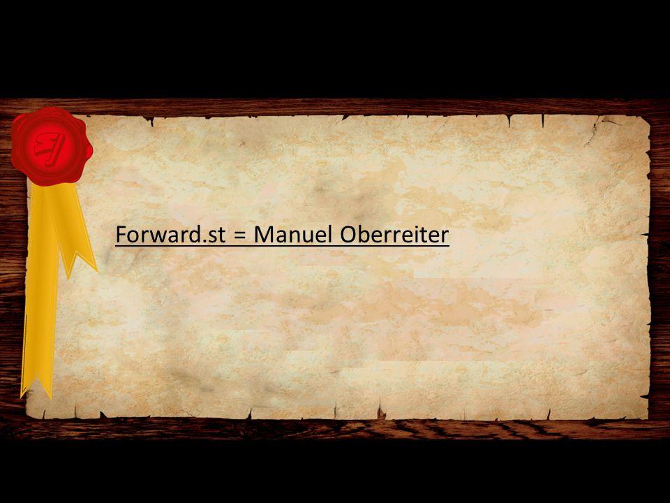 Forward.st = Manuel Oberreiter