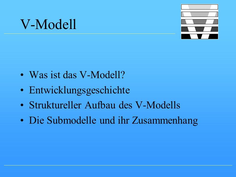 V-Modell Was ist das V-Modell Entwicklungsgeschichte