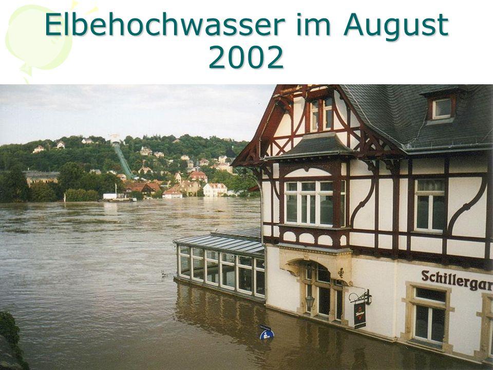 Elbehochwasser im August 2002