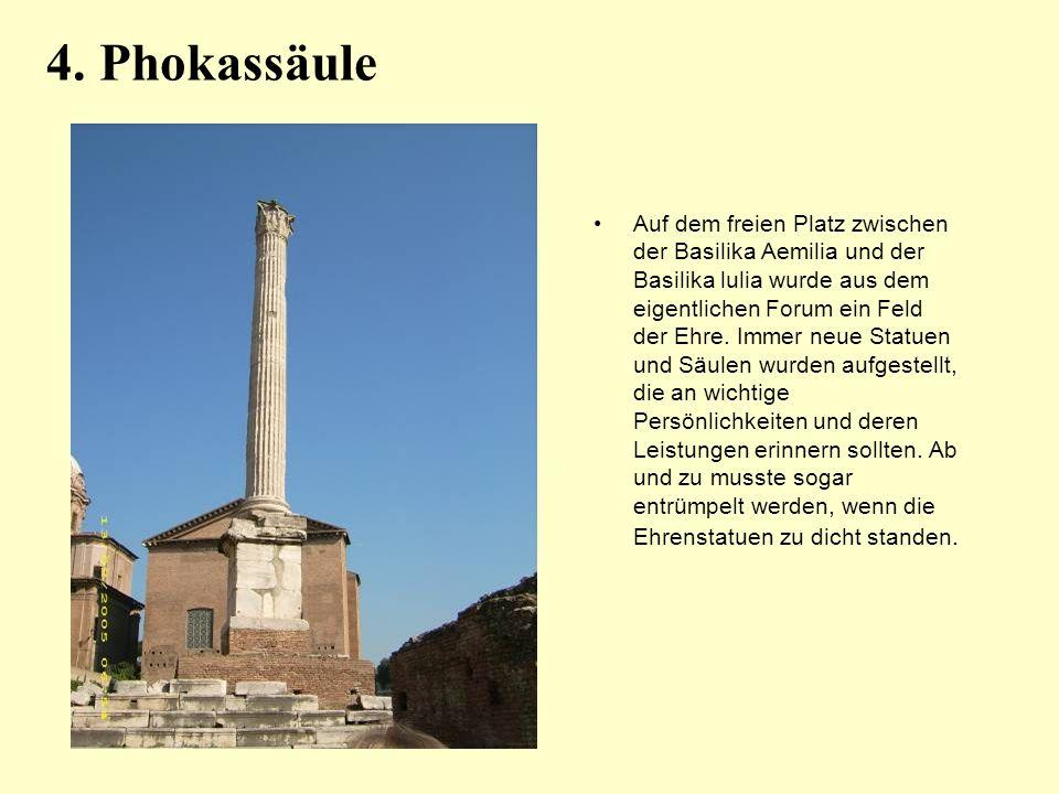 4. Phokassäule