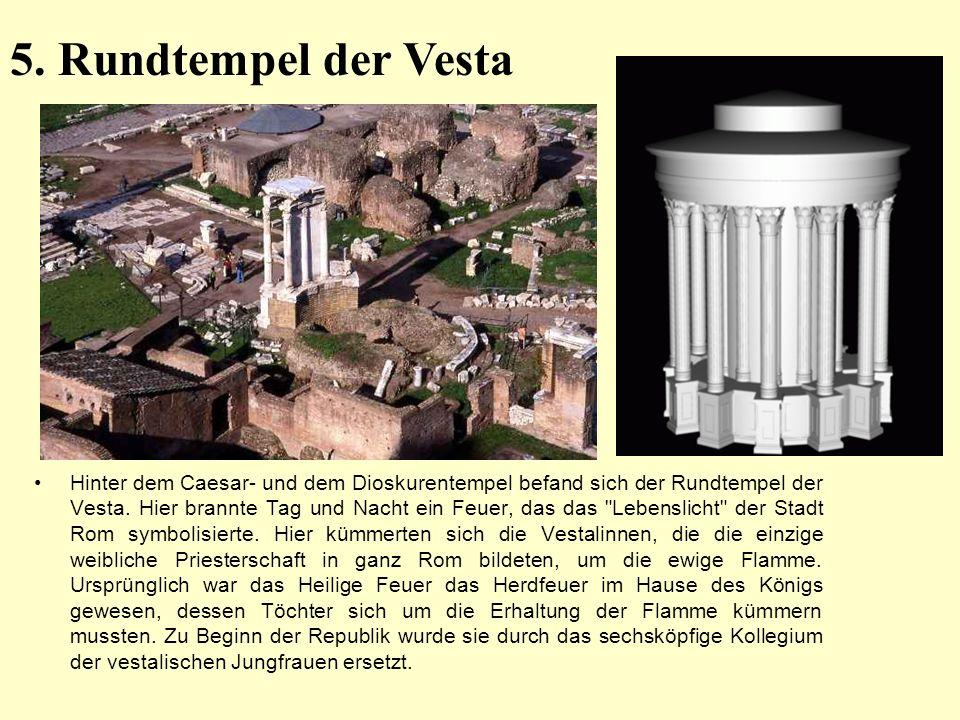 5. Rundtempel der Vesta