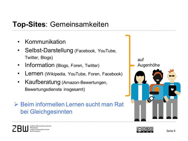 Top-Sites: Gemeinsamkeiten