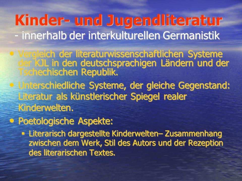 Kinder- und Jugendliteratur - innerhalb der interkulturellen Germanistik