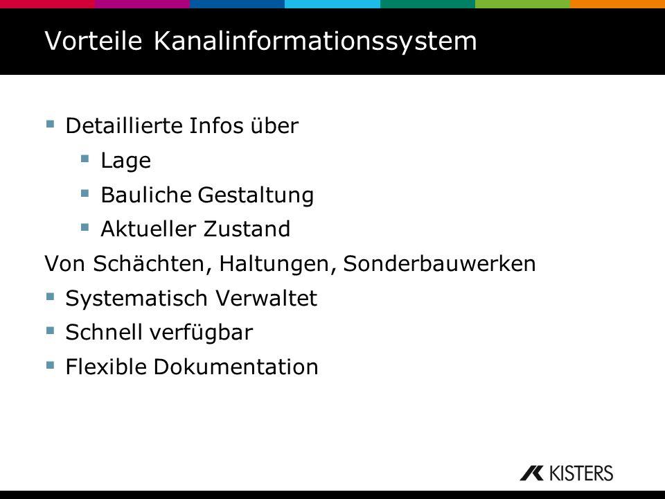 Vorteile Kanalinformationssystem