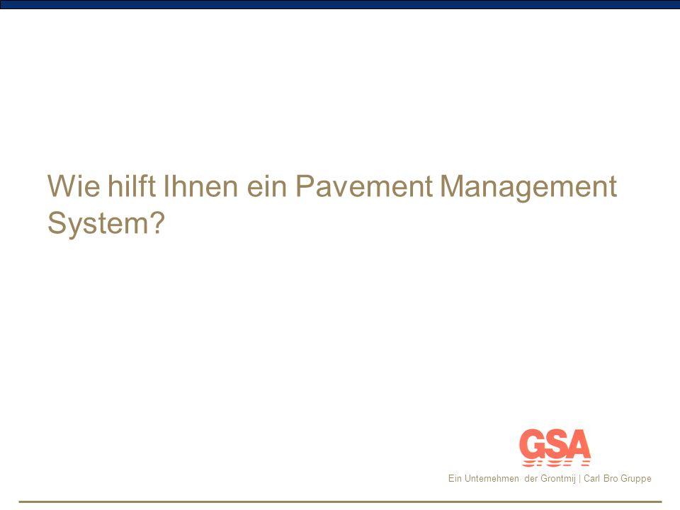 Wie hilft Ihnen ein Pavement Management System