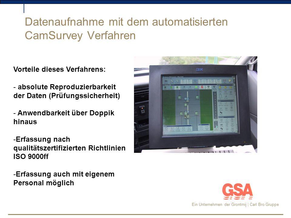 Datenaufnahme mit dem automatisierten CamSurvey Verfahren