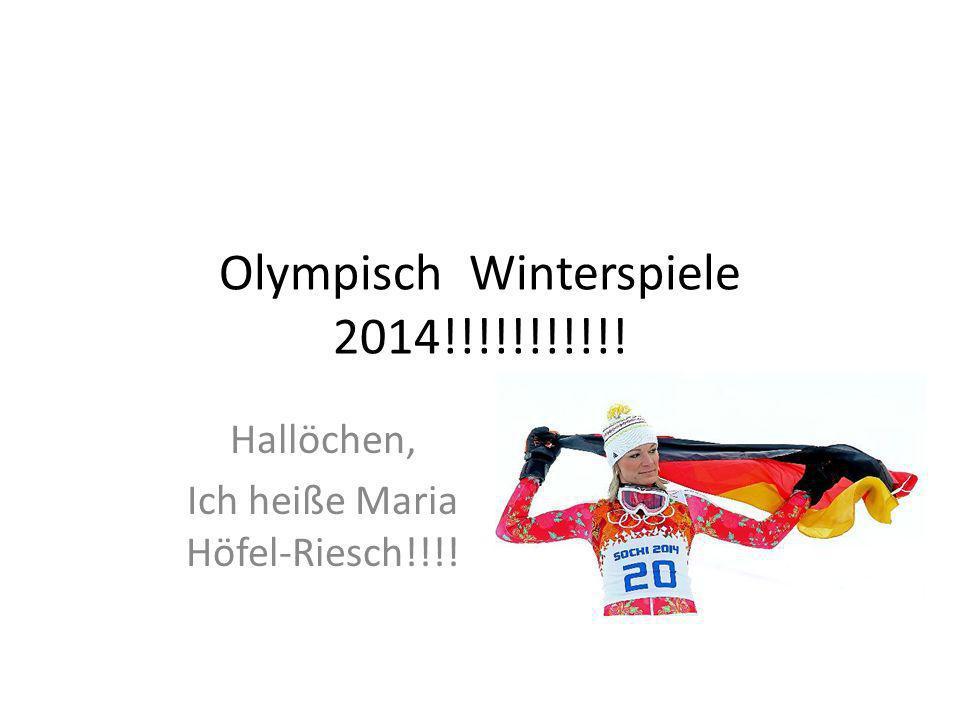 Olympisch Winterspiele 2014!!!!!!!!!!!