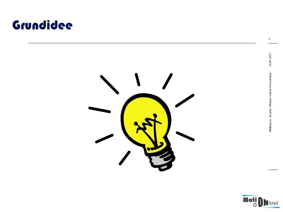 Grundidee 14.06.2011 Mülhauser, Beyeler, Motion Control Presentation Text