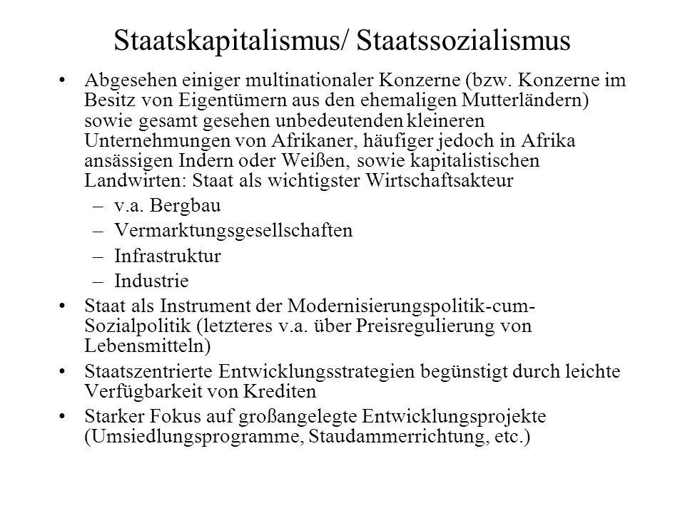 Staatskapitalismus/ Staatssozialismus