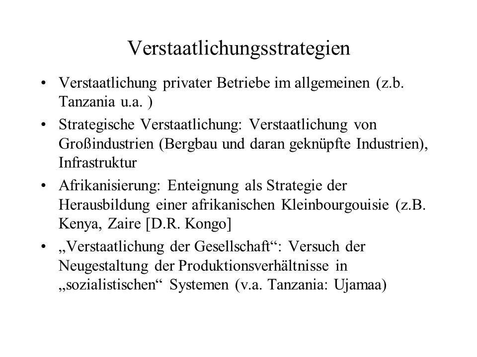 Verstaatlichungsstrategien