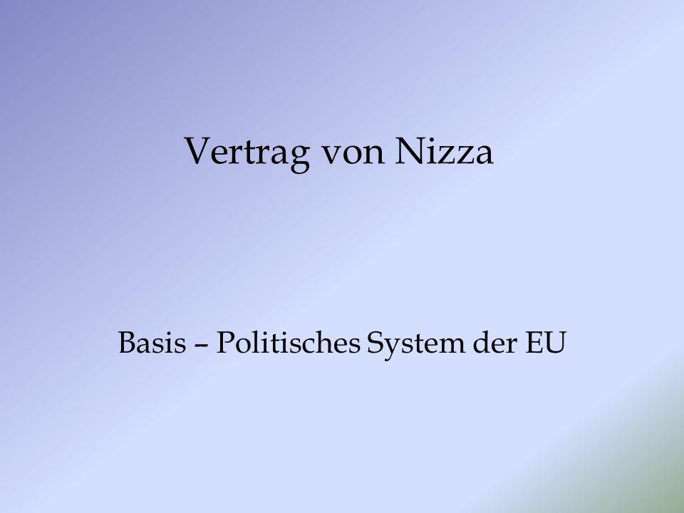 Basis – Politisches System der EU