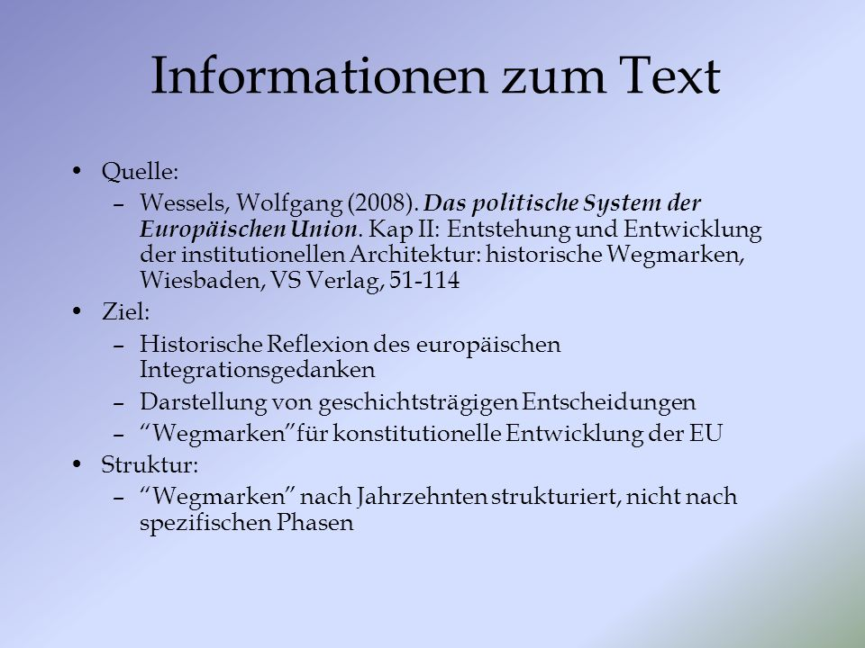 Informationen zum Text