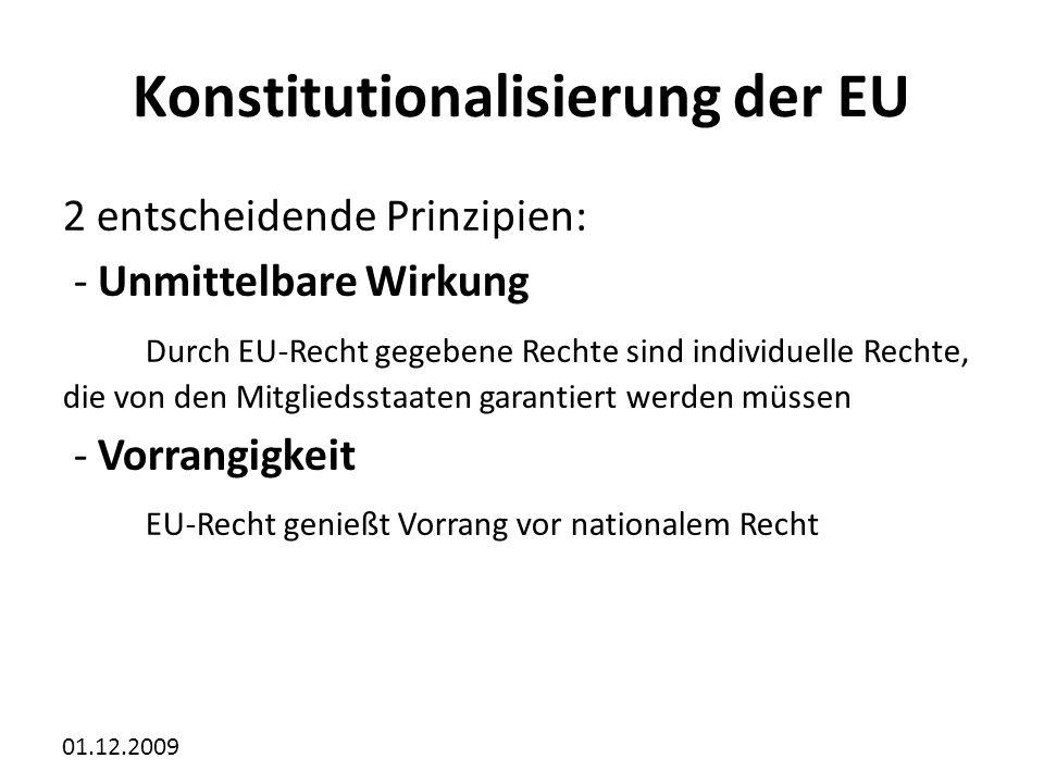 Konstitutionalisierung der EU