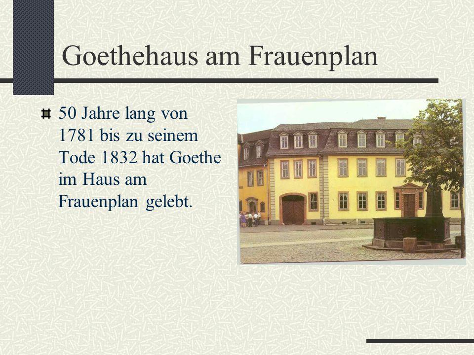Goethehaus am Frauenplan