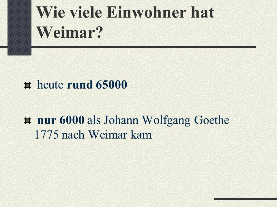Wie viele Einwohner hat Weimar