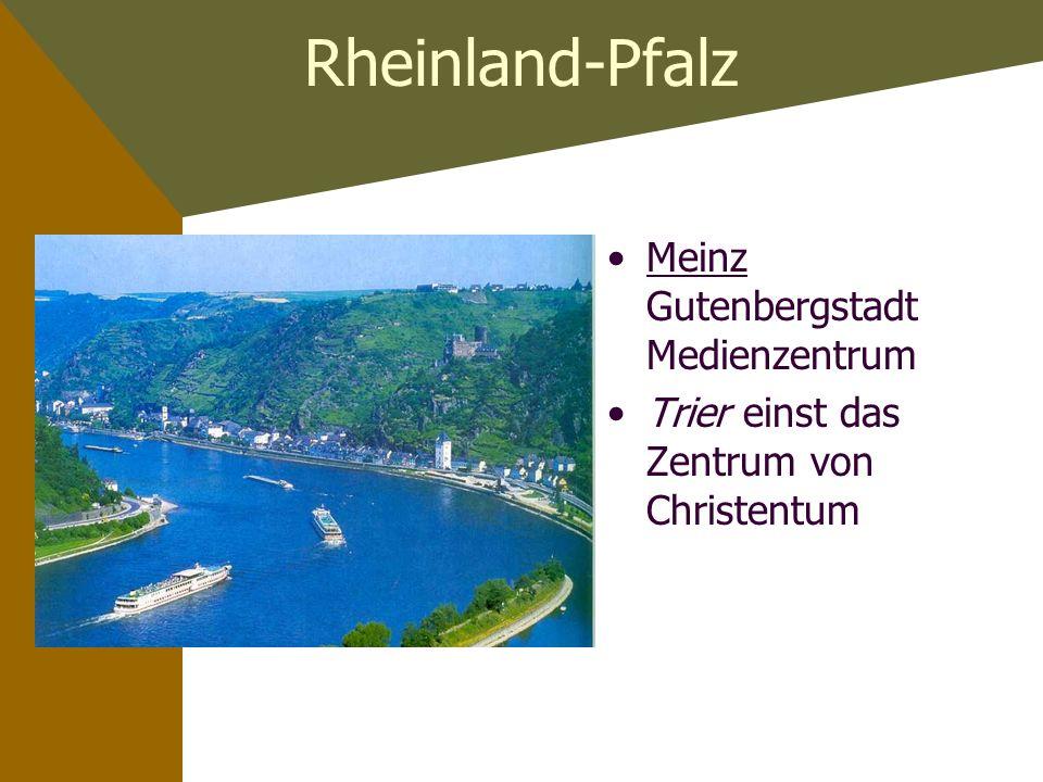 Rheinland-Pfalz Meinz Gutenbergstadt Medienzentrum