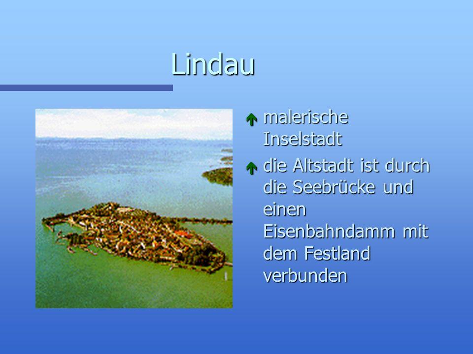 Lindau malerische Inselstadt