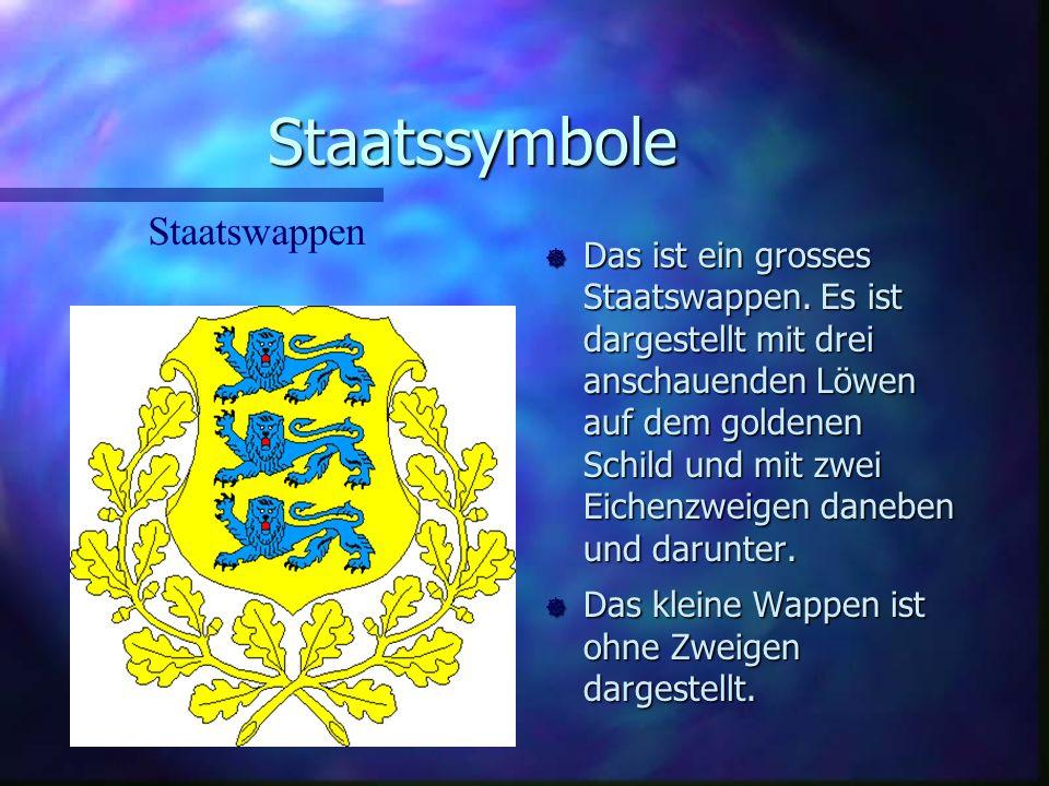 Staatssymbole Staatswappen