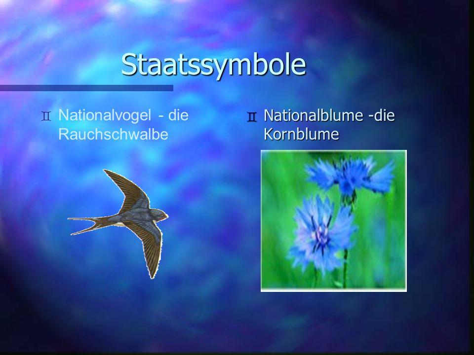 Staatssymbole Nationalvogel - die Rauchschwalbe